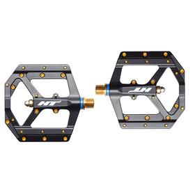 HT Evo-Mag ME03T Pedals black/gold